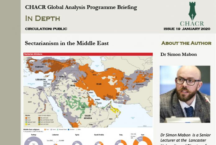 Issue19 CHACR GAP Briefing Secterianism in the Middle East